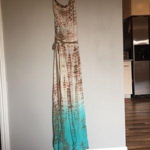 Long maxi dress
